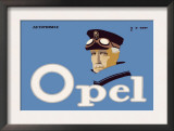Opel Automobile Prints by Hans Rudi Erdt