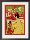 L'Eclatante, The Brilliant Lamp Posters by Manuel Robbe