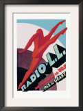 Radio, L.L.: Modern Running Man Prints