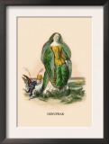 Nenuphar Prints by J.J. Grandville