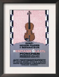 German Music Store Prints by Carl Kunst
