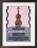 German Music Store Prints by Carl Kunst