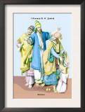 Jewish Noblemen, First Century B.C. Poster by Richard Brown
