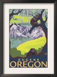 Beaver Family, Eugene, Oregon Prints
