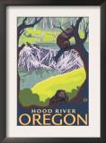 Beaver Family, Hood River, Oregon Prints