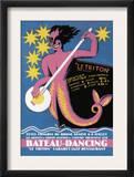 Bateau Dancing Poster