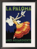 Spain - La Paloma - Anis Aguardiente Promotional Poster Posters