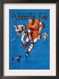 American Boy Hockey Cover Poster