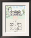 Villa in the Roman Style Prints by Richard Brown