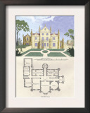 Chateau in the Flemish Style Posters by Richard Brown