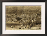 Chicago, Illinois - Panoramic Map No. 1 Poster