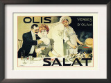 Olis Salat, Verges d&#39;Oliva Posters by E. Norlind