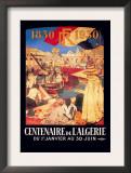 Centenaire de l'Algerie: 1830-1930 Art by Leon Cavvy