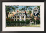 Cambridge, Massachusetts - Exterior View of Longfellow's Home Posters