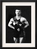 Bodybuilder in Sash Posters