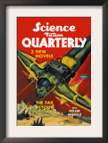 Science Fiction Quarterly: Rocket Man Attacks Poster