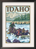White Water Rafting, Idaho Print