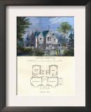 Tudor Cottage, Elizabethan Prints by Richard Brown