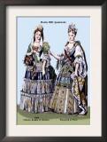 Zidmila Sophia of Sweden and Elizabeth of Bern, 18th Century Prints by Richard Brown