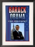 Barack Obama For President Prints
