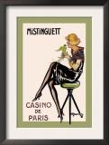 Mistinguett, Casino de Paris Print by Charles Gesmar