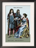 Sheriff of London and Caviliers under Charles II, 17th Century Posters by Richard Brown