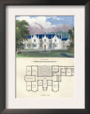 Tudor Hall Elizabethan Style Posters by Richard Brown
