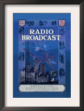 Radio Broadcast, Building the R.B. Lab Receiver Posters
