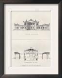 Grecian Villa Prints by Richard Brown