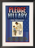 Pledge Hillary for President Posters