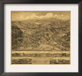 Higganum, Connecticut - Panoramic Map Prints