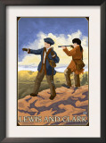 Lewis and Clark Exploring the West Prints