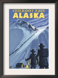 Chilkoot Pass, Alaska Gold Miners Prints