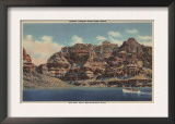 Grand Canyon, Arizona - Boulder Dam Area, Lake Mead Boat Prints