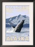 Humpback Whale, Valdez, Alaska Prints