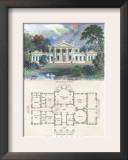Grecian Villa Poster by Richard Brown
