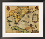 Florida - Panoramic Map Prints