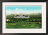Bretton Woods, NH - Mt Washington Hotel, Presidential Range in September Prints