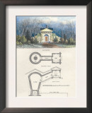 Ice House Print by Richard Brown