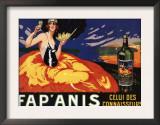 France - Fap'Anis Celui Des Connaisseurs Advertisement Poster Posters