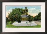 Bridgeport, Connecticut - Seaside Park View of the P T Barnum Monument Prints