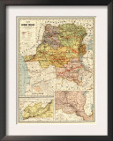 Congo - Panoramic Map Posters