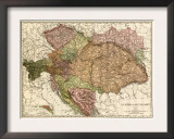 Austria-Hungary - Panoramic Map Posters