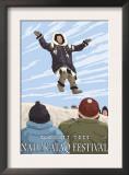 Alaska Blanket Toss, Nalukataq Festival, Alaska Posters