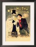 Mothu et Doria: Scenes Impressionnistes Posters by Théophile Alexandre Steinlen