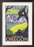 Beaver Family, Gresham, Oregon Prints