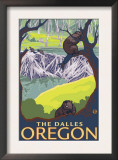 Beaver Family, The Dalles, Oregon Art
