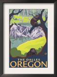 Beaver Family, The Dalles, Oregon Art