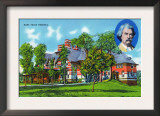 Hartford, Connecticut - Exterior View of the Mark Twain Memorial Posters