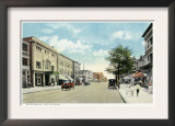 Bridgeport, Connecticut - Western View of State Street Print